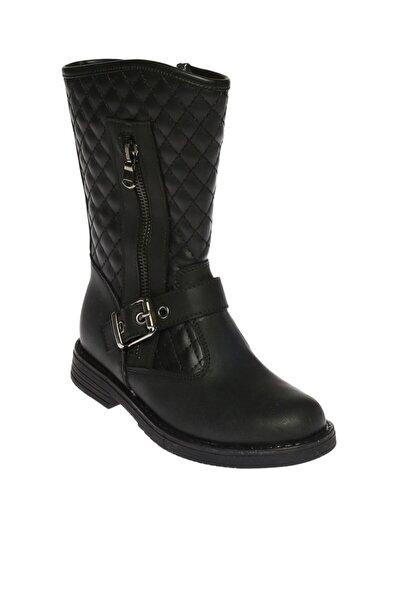 LİMON COMPANY Kadın Siyah Fermuarlı Çizme