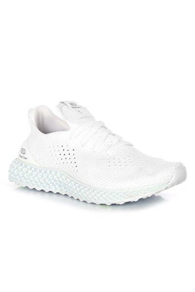 BLACK DEER Beyaz Volcano Ortopedik Yazlık Sneaker Ayakkabı