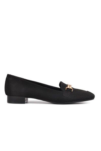 Maje Siyah Süet Kadın Günlük Ayakkabı