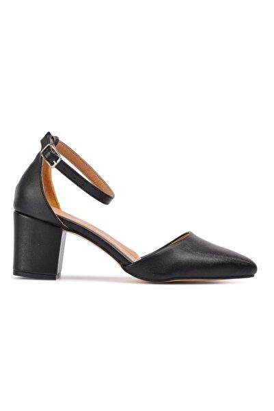 Maje Siyah Şanel Kadın Topuklu Ayakkabı