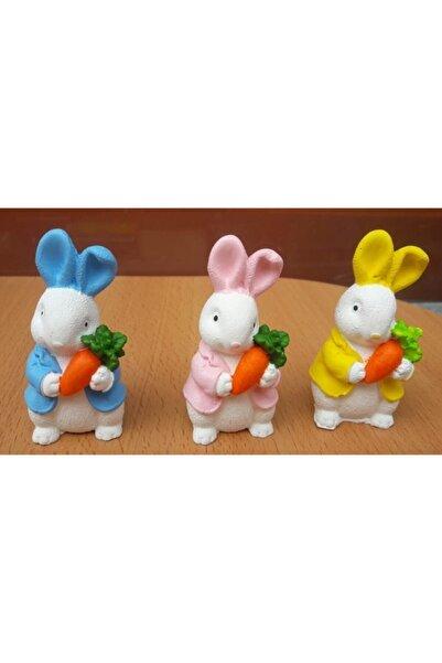 OBJE Sevimli Tavşanlar 3'lü