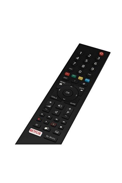 Beko Arçelik Altus Grundig Smart Lcd Led Tv Televizyon Kumandası Netflix Tuşlu Kumanda 7295 Abgn7