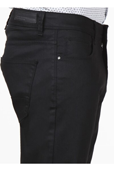 Kip Erkek Regular Fit Düz Siyah Pantolon