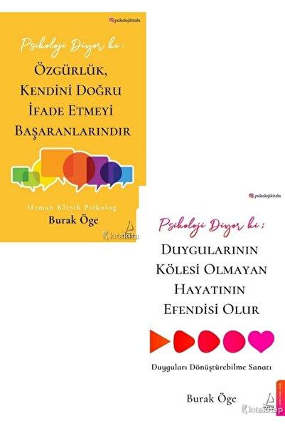 Karakarga Yayınları Psikoloji Diyor Ki: Özgürlük, Kendini Doğru Ifade Etmeyi Başaranlarındır - Burak Öge 2 Kitap Set
