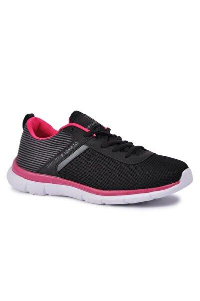 TIFFANY&TOMATO Tiffany & Tomato Siyah-fuşya Kadın Spor Ayakkabı