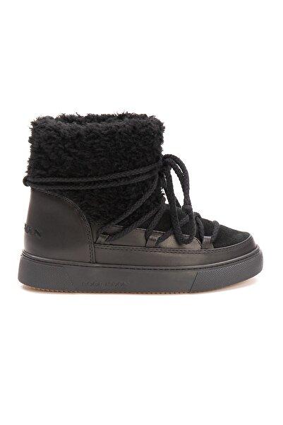 Cool Moon Hakiki Kürklü Kadın Sneakers 355065