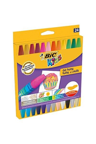 Bic Pastel Boya Yağlı 24 Renk