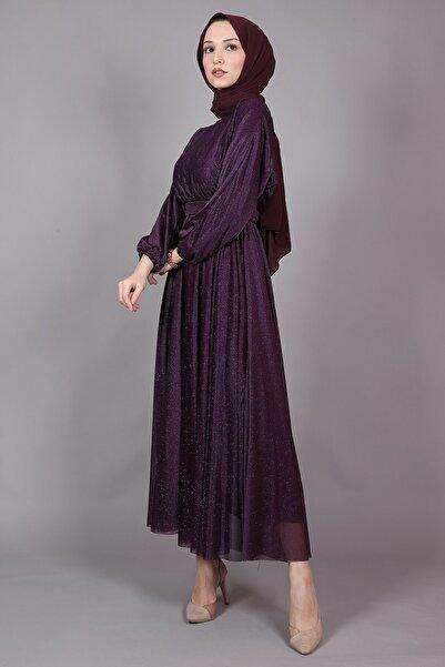 Modarana Simli Salaş Tesettür Elbise