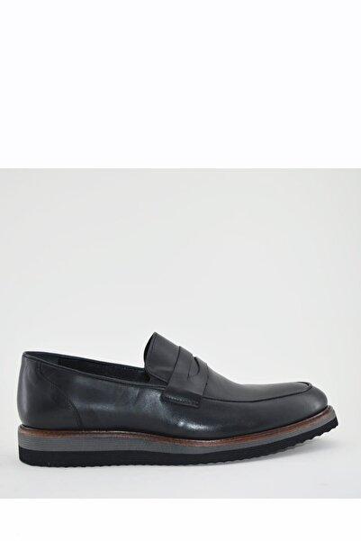 İgs Erkek Deri Günlük Ayakkabı I1811459-1-1 M 1000 Siyah