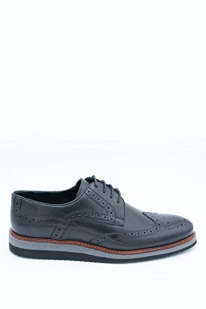 İgs Erkek Deri Günlük Ayakkabı I1911459-2 M 1000 Siyah