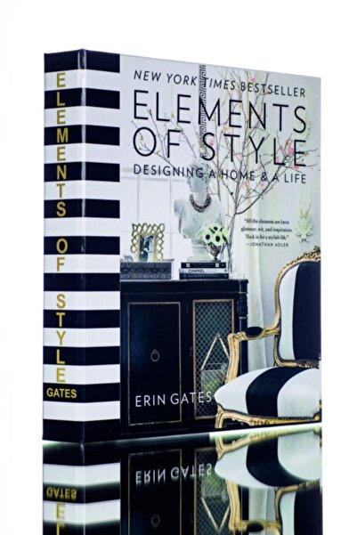 irayhomedecor Elements Dekoratif Kitap Kutusu