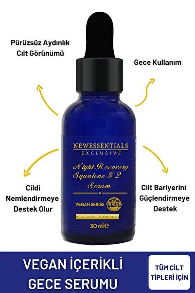 New Essentials Hücre Yenileyici & Onarıcı Gece Serumu 30 ml