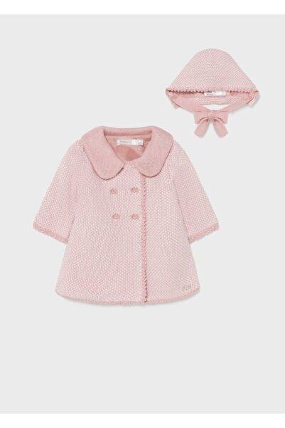 MAYORAL Kız Bebek Şapkalı Örme Ceket