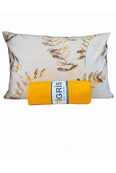 Tigris home textile Çift, Tek Kişilik Lastikli Çarşaf Seti %100 Pamuk