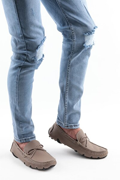 Buffalo Comfort Erkek Kahve Loafer Ayakkabı