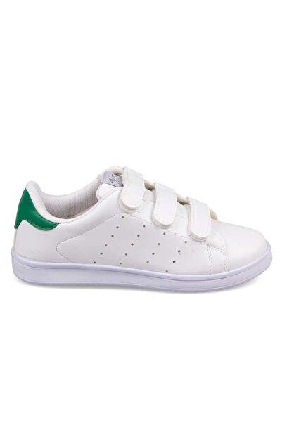 Venuma 660-1 Genç Beyaz Bantlı Unisex Sneaker Günlük Spor Ayakkabı