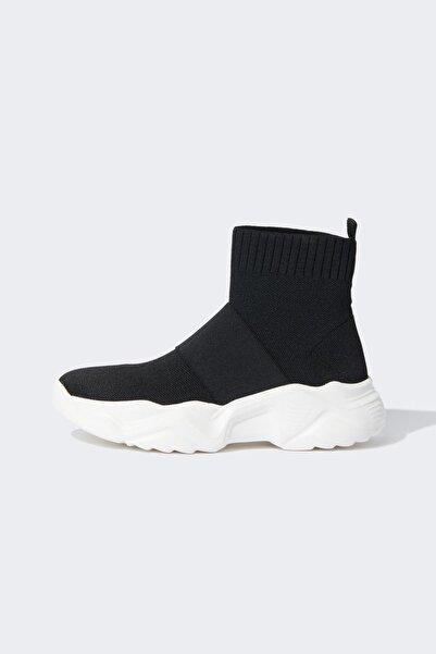 DeFacto Çorap Tipi Yüksek Bilekli Spor Ayakkabı