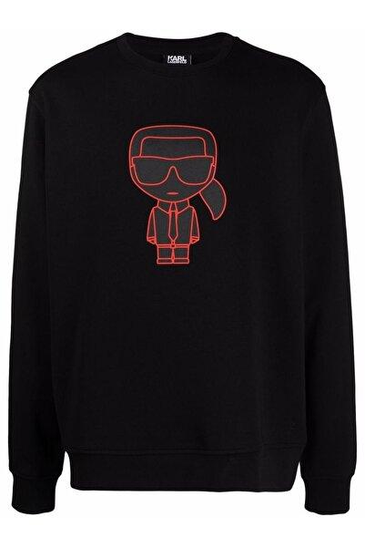 Karl Lagerfeld Kikonik Rib Trimmed Sweatshirt