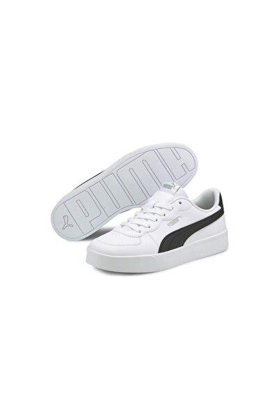 Puma Skye Clean Günlük Spor Ayakkabı Beyaz Kadın - 38014704