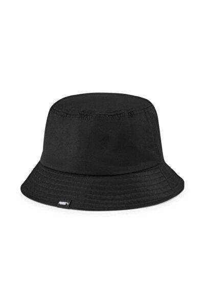 Puma Core Bucket Black Gri Şapka (023131-01)