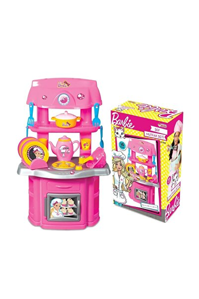 DEDE Barbie Şef Mutfak Set