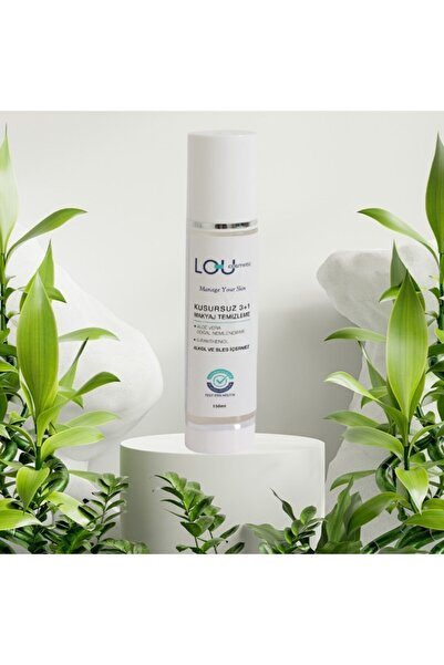 Lou Cosmetics Lou Cosmetic Kusursuz 3+1 Makyaj Temizleyici