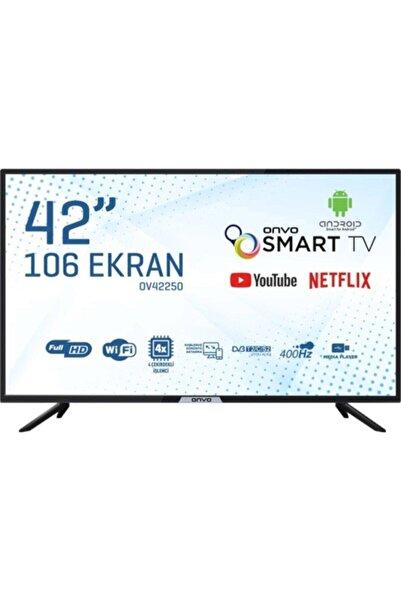 """ONVO OV42250 42"""" 106 Ekran Uydu Alıcılı Full HD Smart LED TV"""