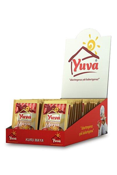 YUVA Instant Kuru Ekmek Mayası Kutu 15 Adet 11 gr