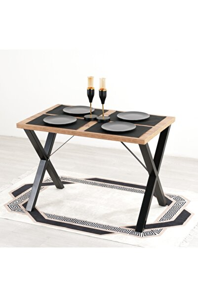 Mars Mobilya Woody Çam Mutfak Masası
