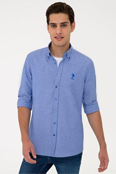 U.S. Polo Assn. Mavı Erkek Gömlek