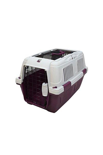 Strong Cd2 Üstten Açılabilir Kedi-köpek Taşıma Çantası Bordo 50x33x29cm