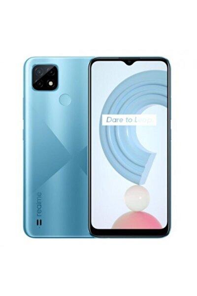 Oppo Realme C21 32GB Mavi Cep Telefonu (Oppo Türkiye Garantili)
