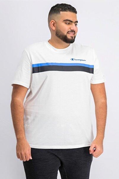 Champion Tshirt Comfort Fit Crew Neck Beyaz