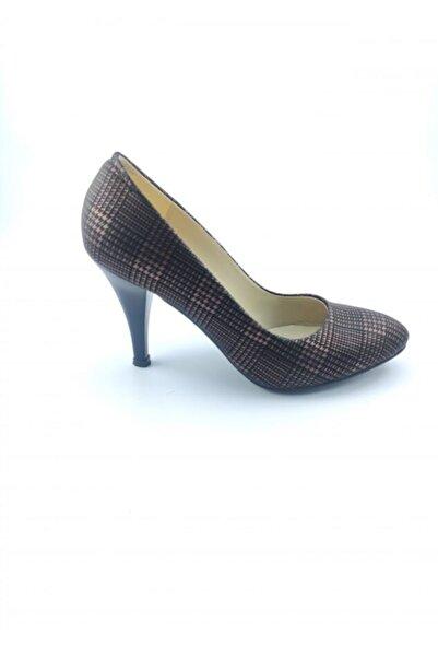 PUNTO Kadın Ayakkabı Taba Kahve