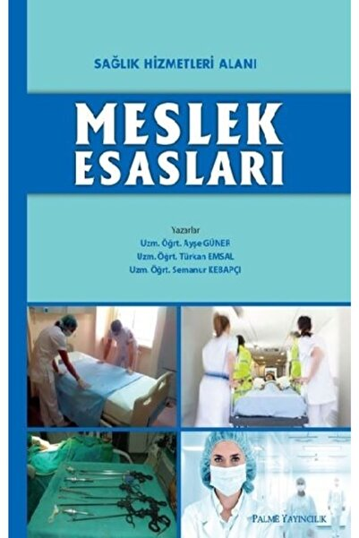 Palme Yayıncılık - Akademik Kitaplar Sağlık Hizmetleri Alanı Meslek Esasları