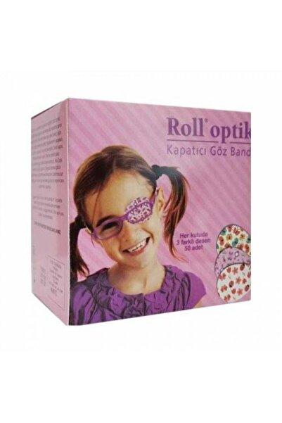 Kurtsan Göz Kapama Bandı 100 Adet Roll Optik Kız Çocuk Roll Optik 100'lük