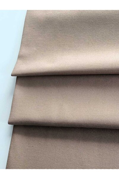 fabricorg Duck Bezi Keten Kumaş Cappuccıno (50x180 Cm)