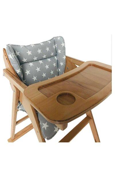 onwood Enka Shop Ahşap Katlanır Mama Sandalyesi (MİNDERLİ)