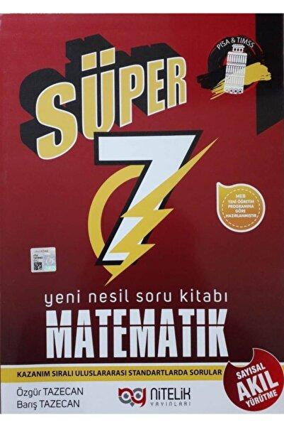 Nitelik Yayınları Nitelik 7.sınıf Süper Matematik Soru Bankası