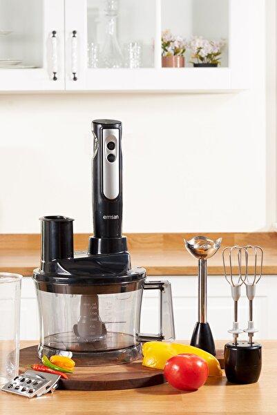 Emsan Powerpack Mutfak Robotu Siyah
