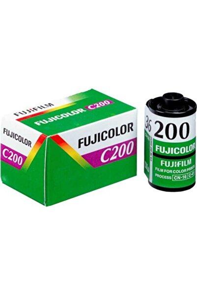 Fujifilm C200 36'lık Renkli Analog Fotoğraf Makinesi Filmi