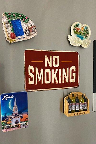 paftanal No Smoking Büyük Magnet 10cmx15cm