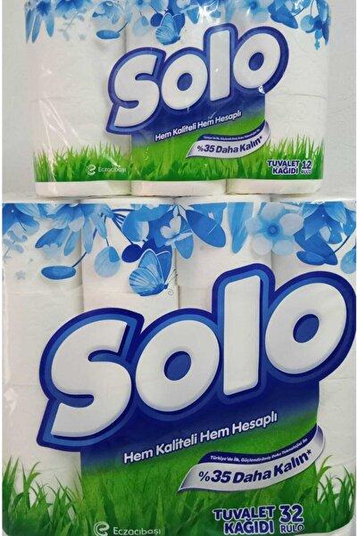 Solo 32'li Çift Katlı Tuvalet Kağıdı 12'li Çift Katlı Tuvalet Kağıdı