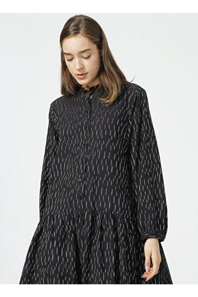 Fabrika Siyah Comfort Elbise