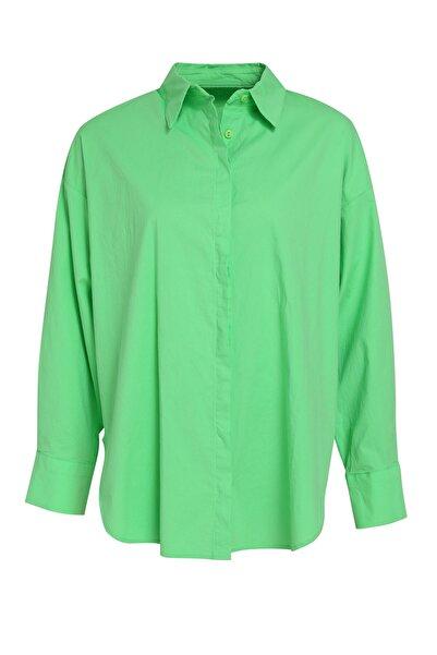 Quzu Oversize Basic Gömlek
