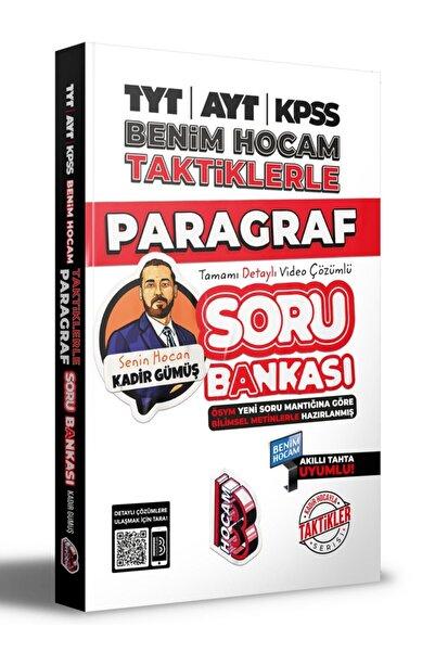 Benim Hocam Yayınları Tyt-ayt-kpss Taktiklerle Paragraf Soru Bankası