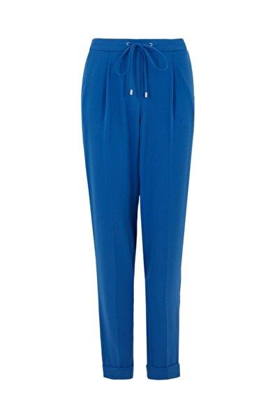 Marks & Spencer Pileli Tapered Leg Pantolon
