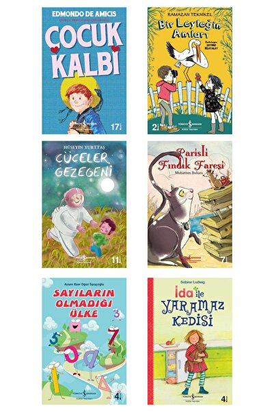 İş Bankası Kültür Yayınları 7 Ile 13 Yaş Arası Çocuklarımızın Severek Okuyacağı Avantajlı Set