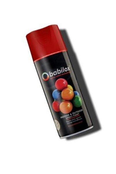 babilox Sprey Boya Kırmızı 400 ml