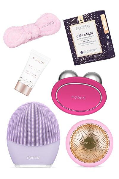 FOREO Bear™ + Ufo™ 2 + Luna™ 3 + Call It A Night Maske + Cleanser 20 ml + Headband